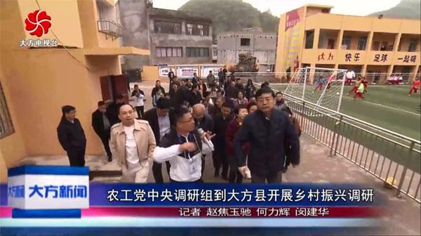 农工党中央调研组到大方县开展乡村振兴调研